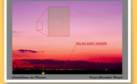 image de la comète C/2011 L4