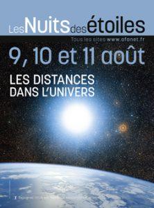 Affiche de la nuit des étoiles 2013