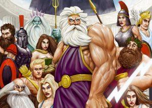 Les dieux d'Olympe