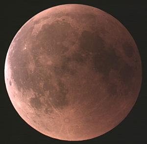 Eclipse de lune 27/07/2018
